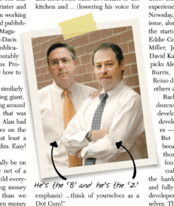 Ted Bahr & Alan Zeichick