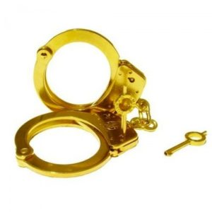 gold-handcuff